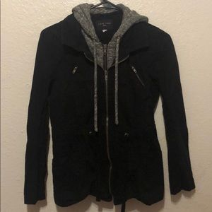 Juniors small zipper jacket